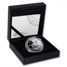 1 Troy ounce silver coin Krugerrand 2019 Proof