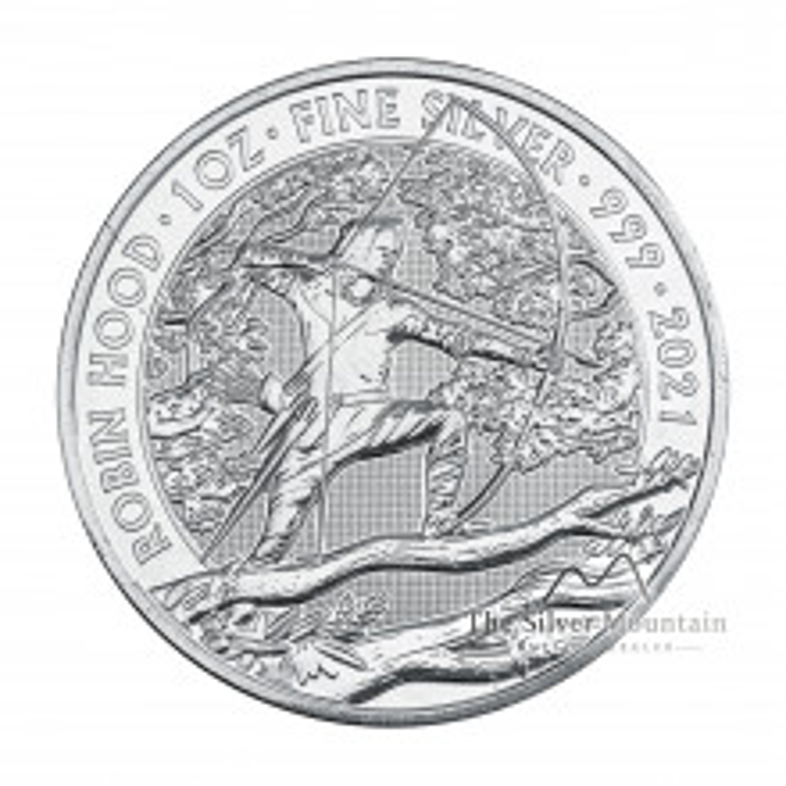 1 troy ounce silver coin Robin Hood 2021