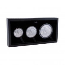 3-pieces silver coin set Lunar 2021 Proof