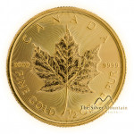 1/2 Troy ounce gold Maple Leaf coin 2021