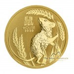 1/2 Troy ounce gold coin Lunar 2020