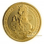 1/4 Troy ounce gold coin Queens Beasts Unicorn 2018