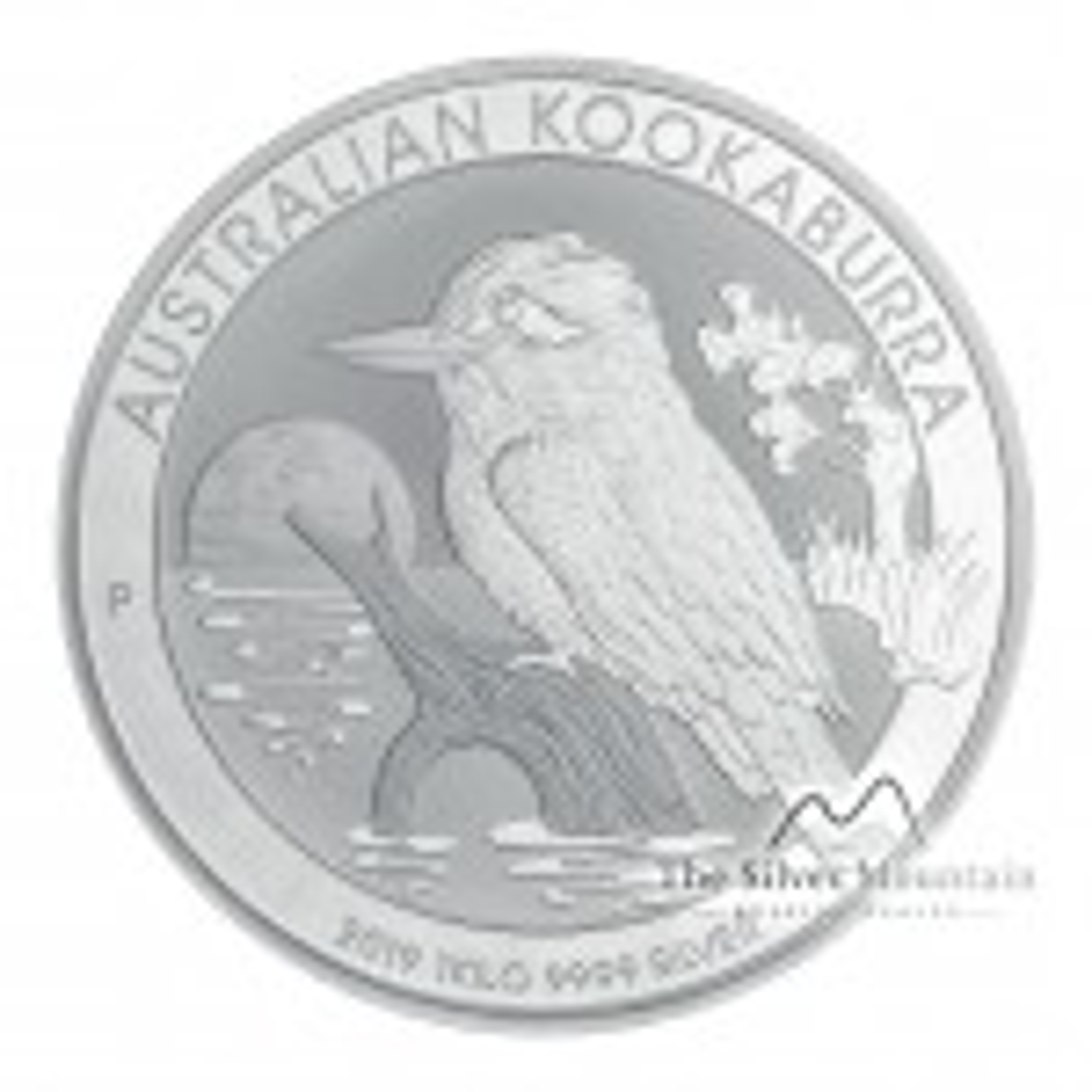 1 Kilogram silver coin Kookaburra 2019