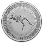 1 troy ounce platinum Kangaroo coin 2020