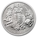 1 Troy ounce silver coin Royal Arms 2020