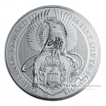 10 Troy ounce silver coin Queens Beasts Griffin