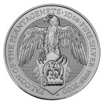 10 Troy ounce silver coin Queens Beasts Falcon of the Plantagenets 2020