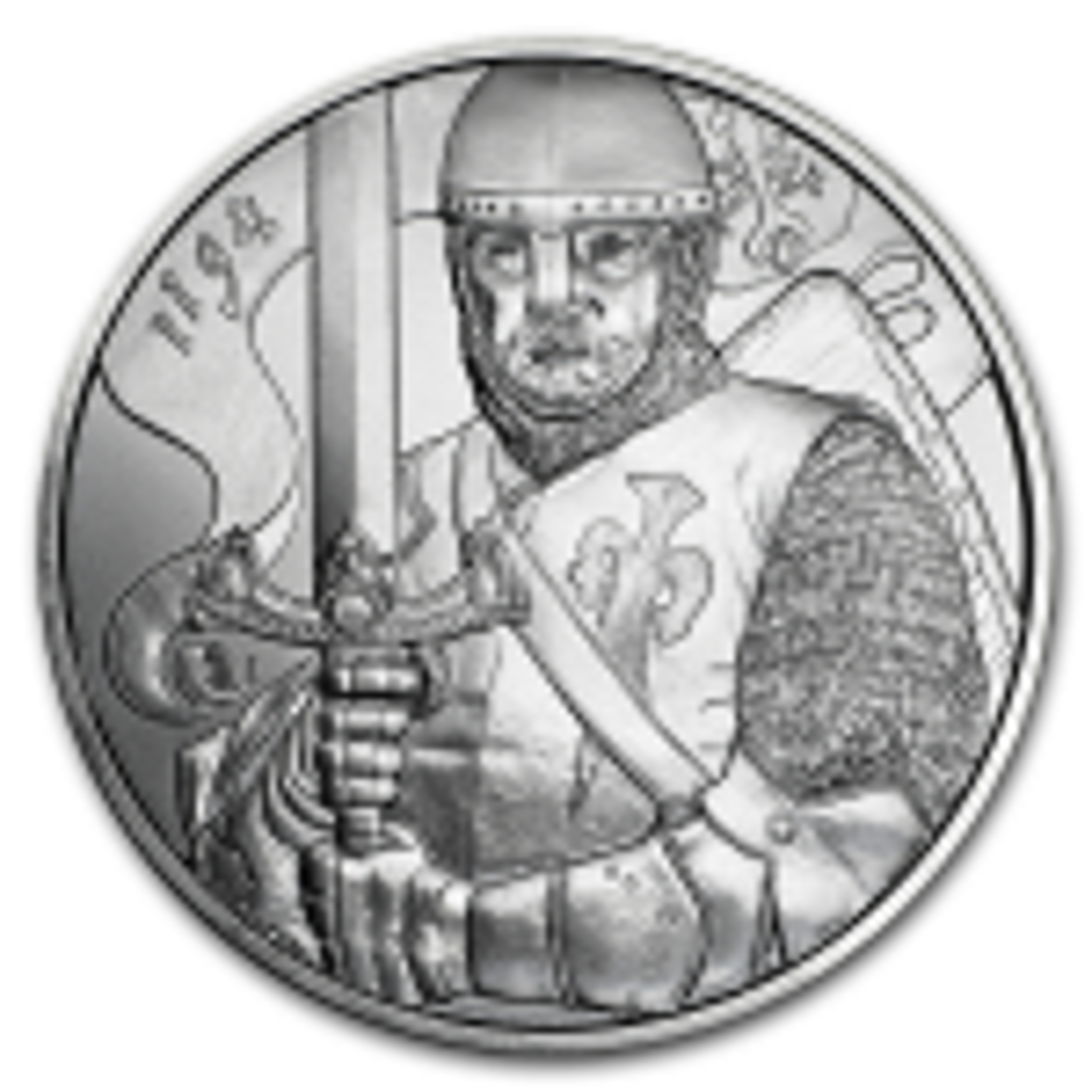 1 Troy ounce silver coin Austria Hertog Leopold V 2019