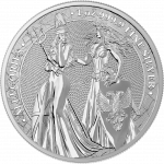 1 Troy ounce silver coin Germania Allegories 2019
