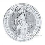 2 Troy ounce silver coin Queen Beasts Yale of Beaufort 2019
