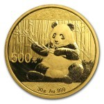 30 Grams gold panda coin 2017