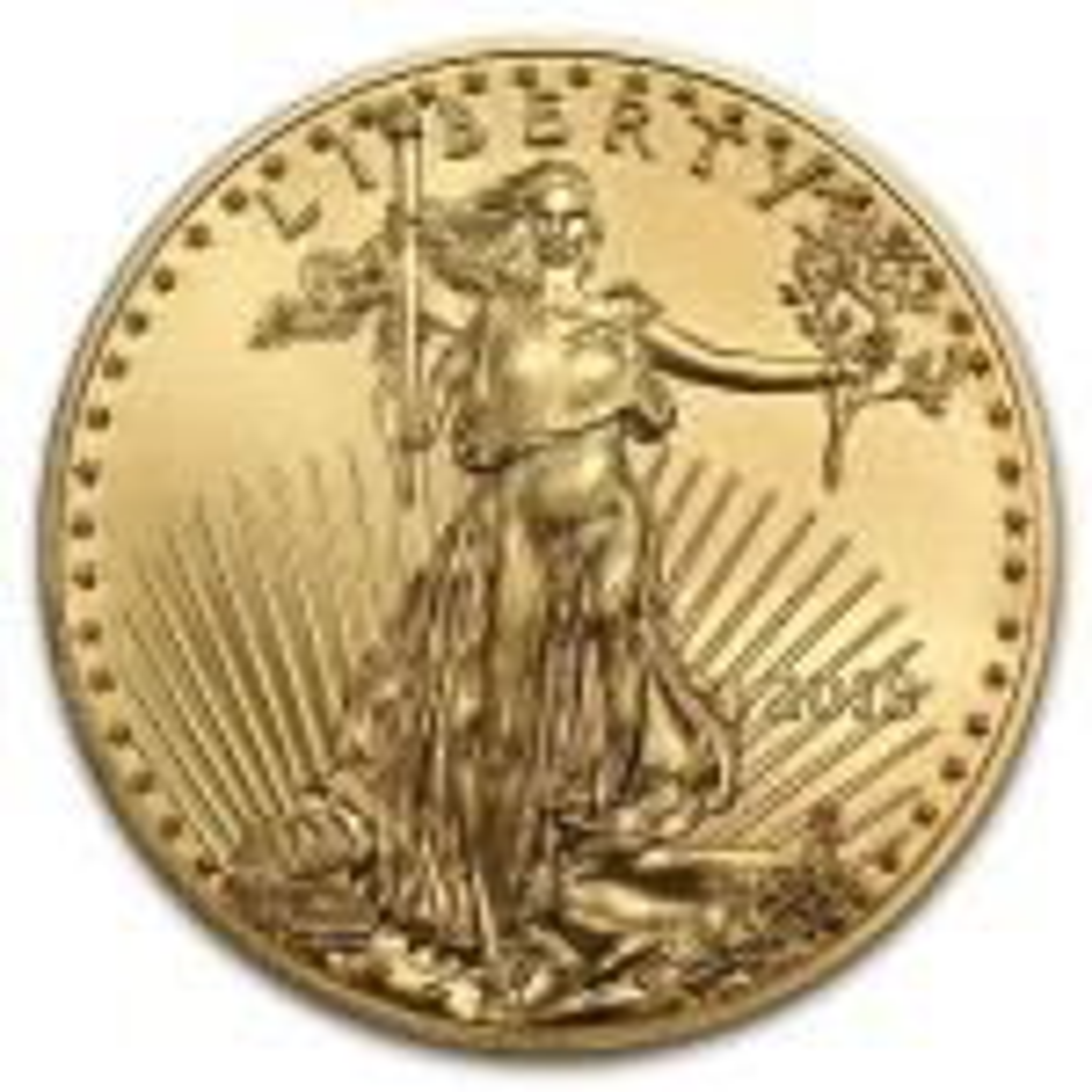 Gold Eagle 1/2 troy ounce coin 2018