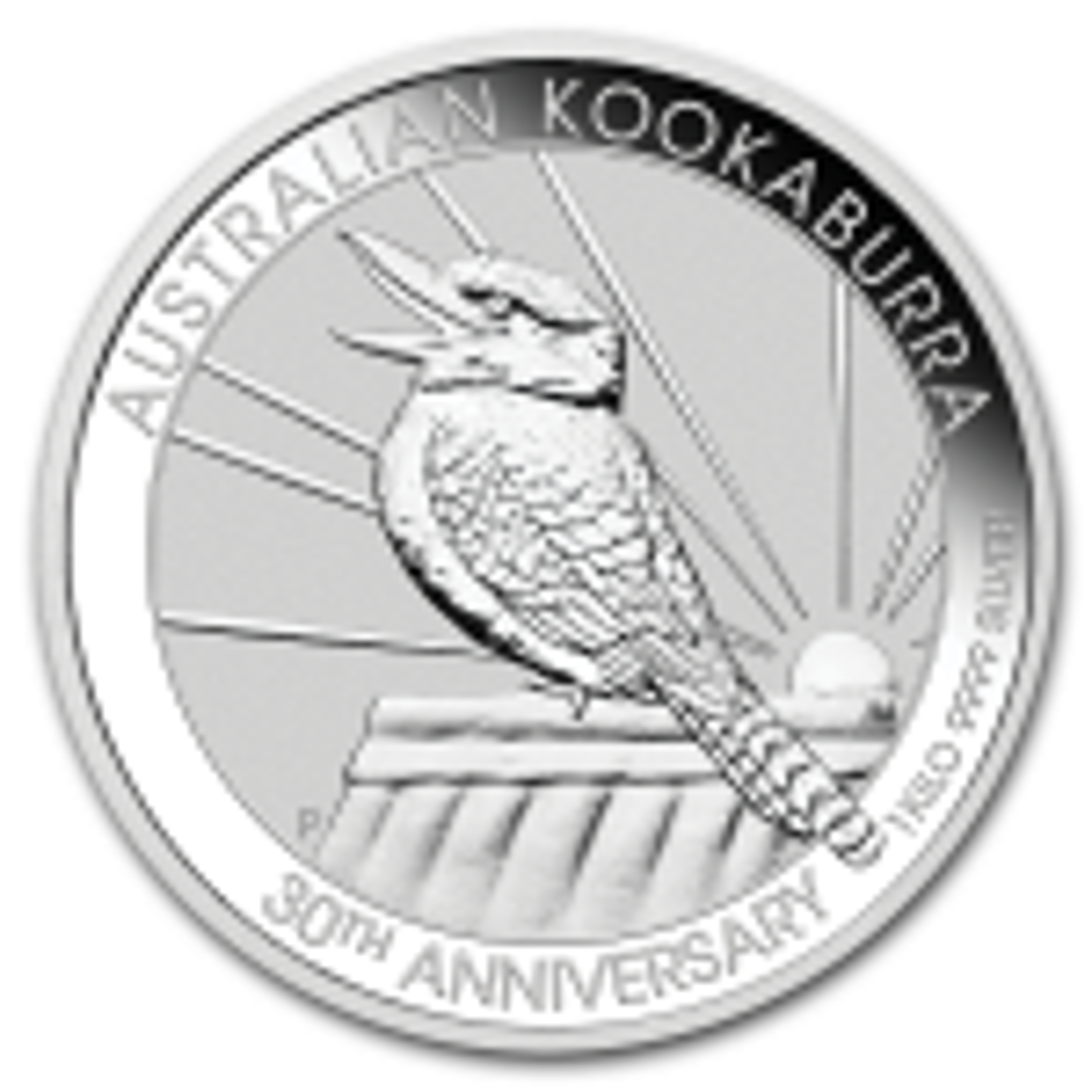 1 kilogram silver Kookaburra coin 2020