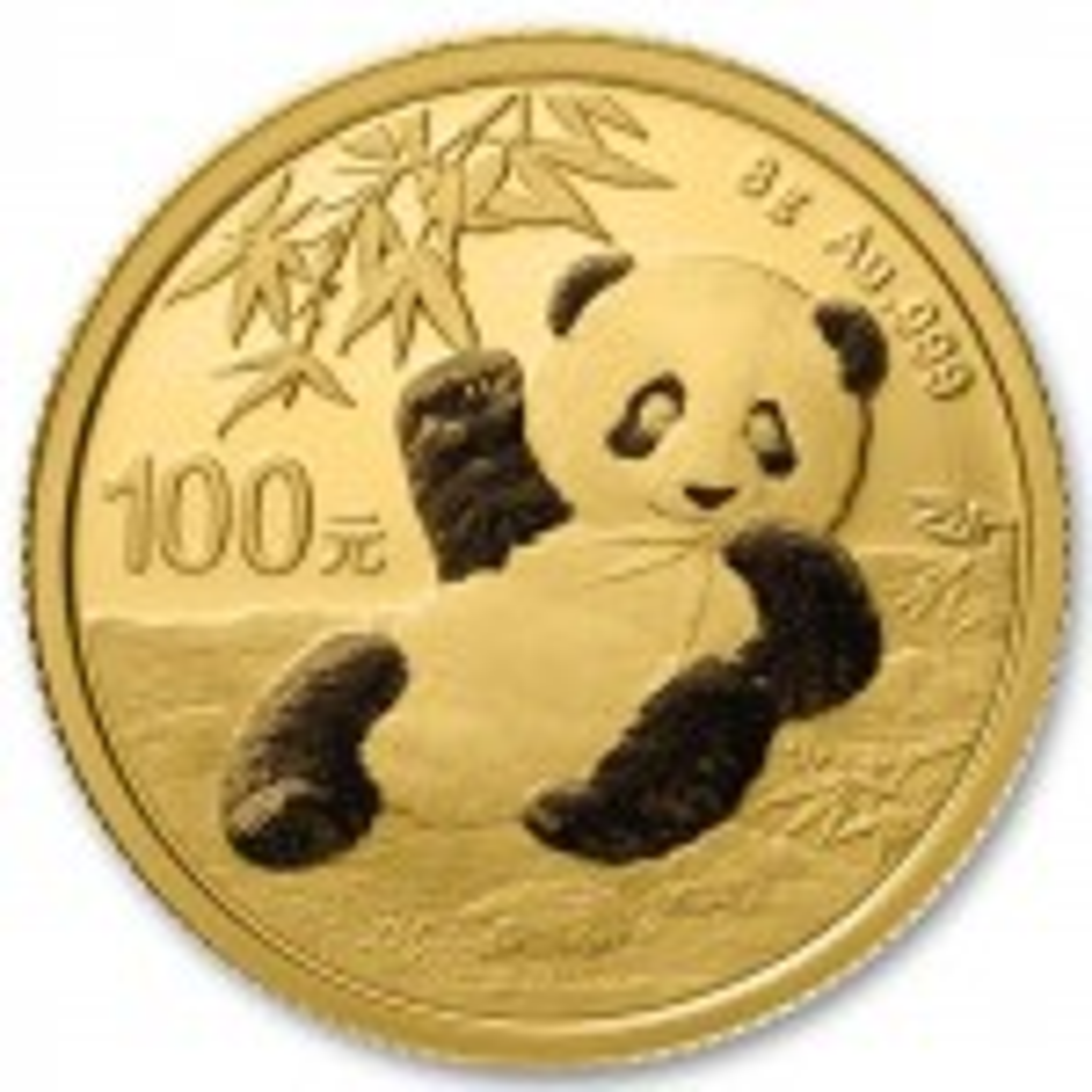 8 Gram gold coin Panda 2020