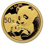3 Grams gold coin Panda 2019