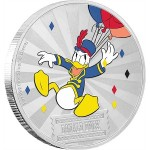 1 Troy ounce silver coin Disney - Carnival Donald Duck 2019