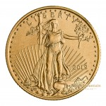 Gold 1/10 troy ounce American Eagle coin 2019