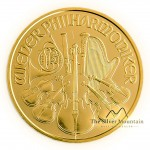Gold 1/10 troy ounce Vienna Philharmonic coins 2019