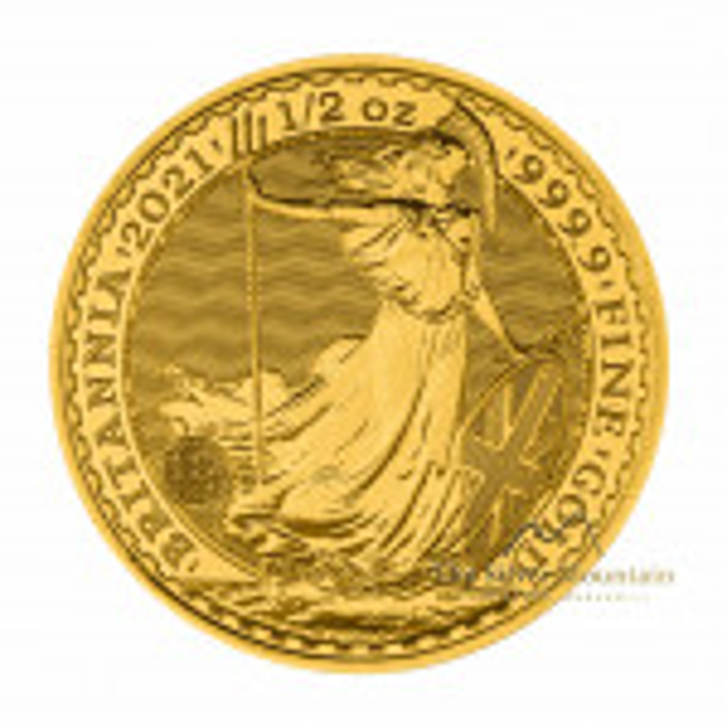 1/2 troy ounce gold coin Britannia 2021