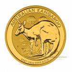 1/4 Troy ounce golden coin Kangaroo 2021