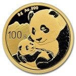 8 Grams gold coin Panda 2019