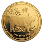 1 Troy ounce gold coin Lunar 2019 Proof