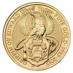 1 Troy ounce gold coin Queen's Beasts Griffin