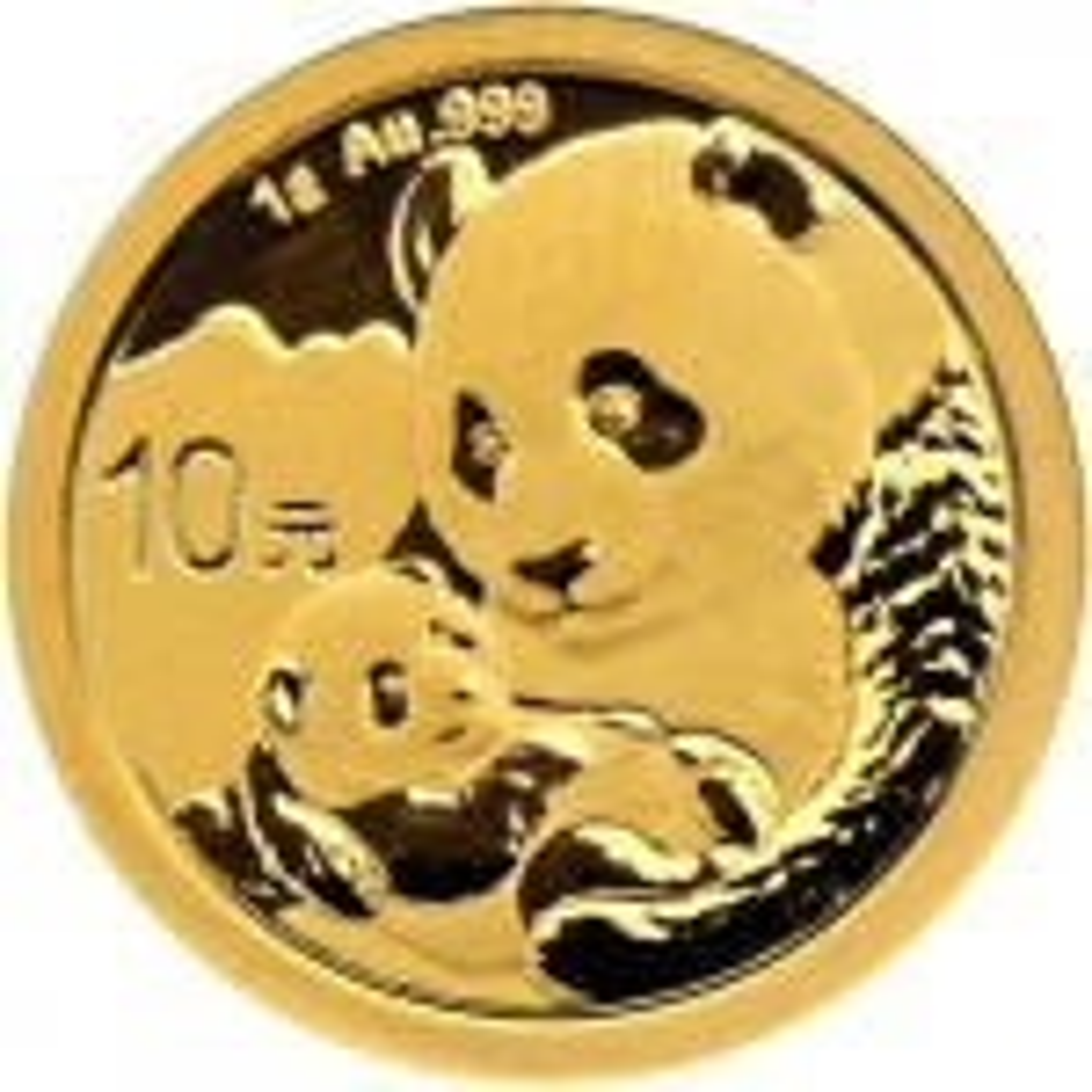 1 Gram gold coin Panda 2019