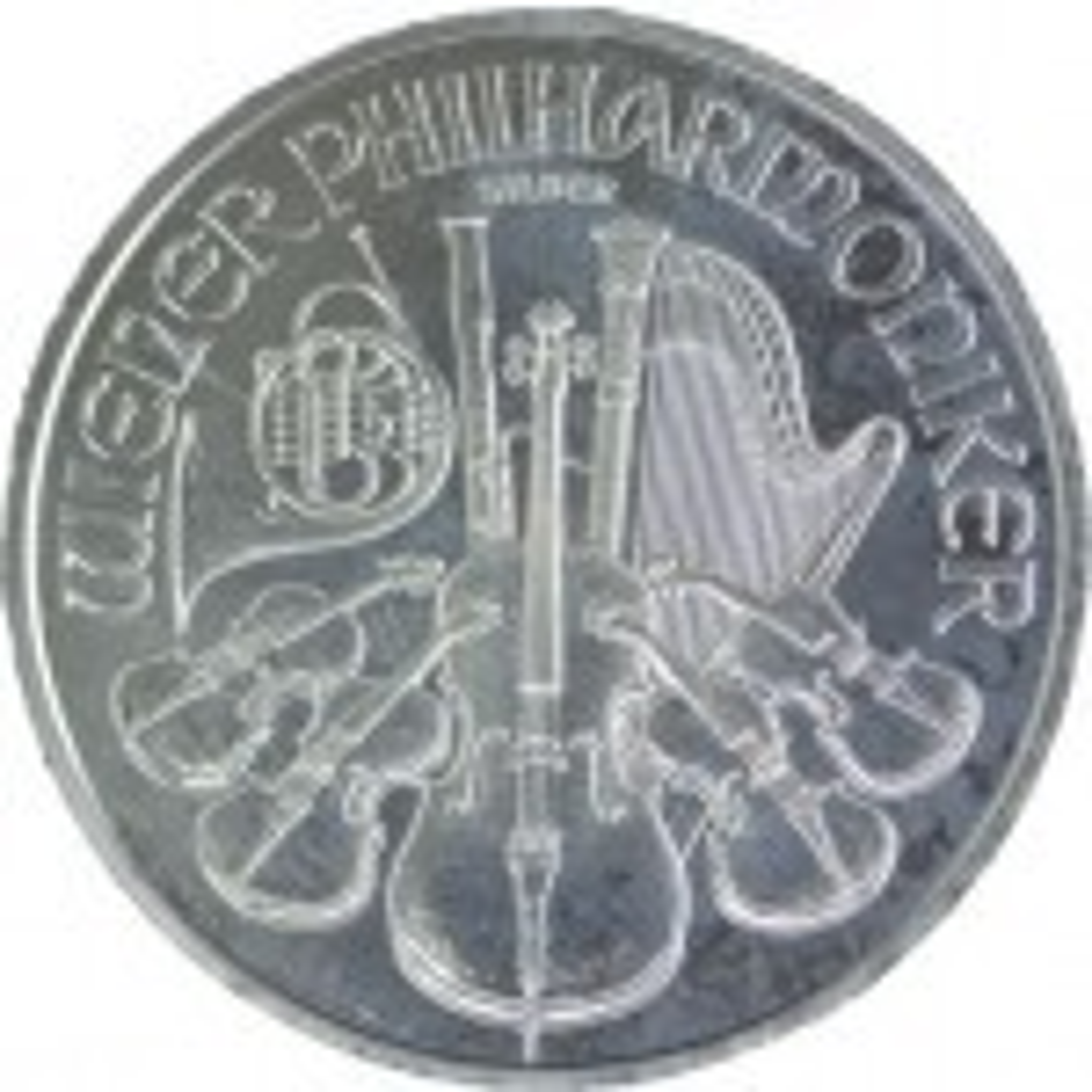 1 Troy ounce silver Philharmonic coin