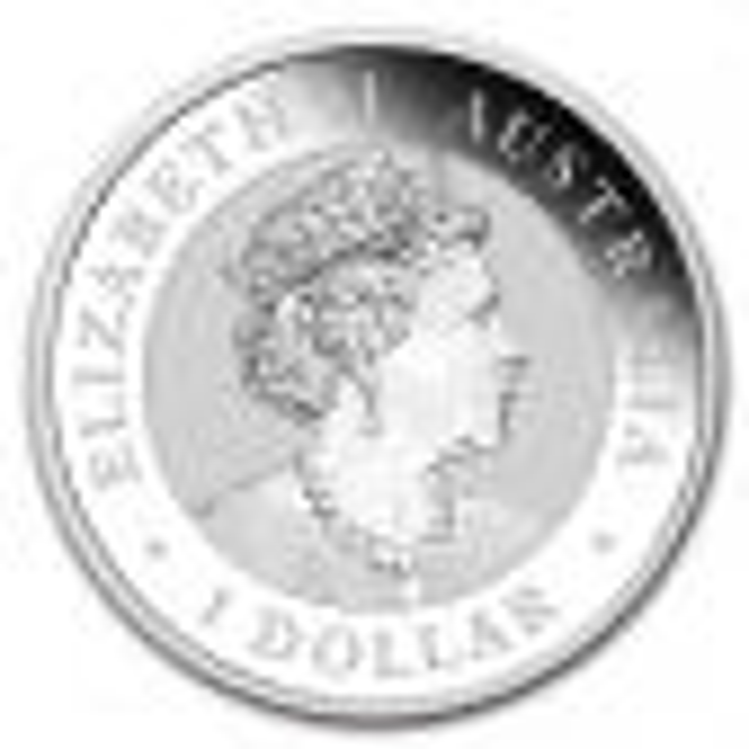 1 troy ounce silver coin Kookaburra 2021 - back