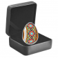 1 Troy ounce silver coin Pysanka Egg 2020 Proof - in box