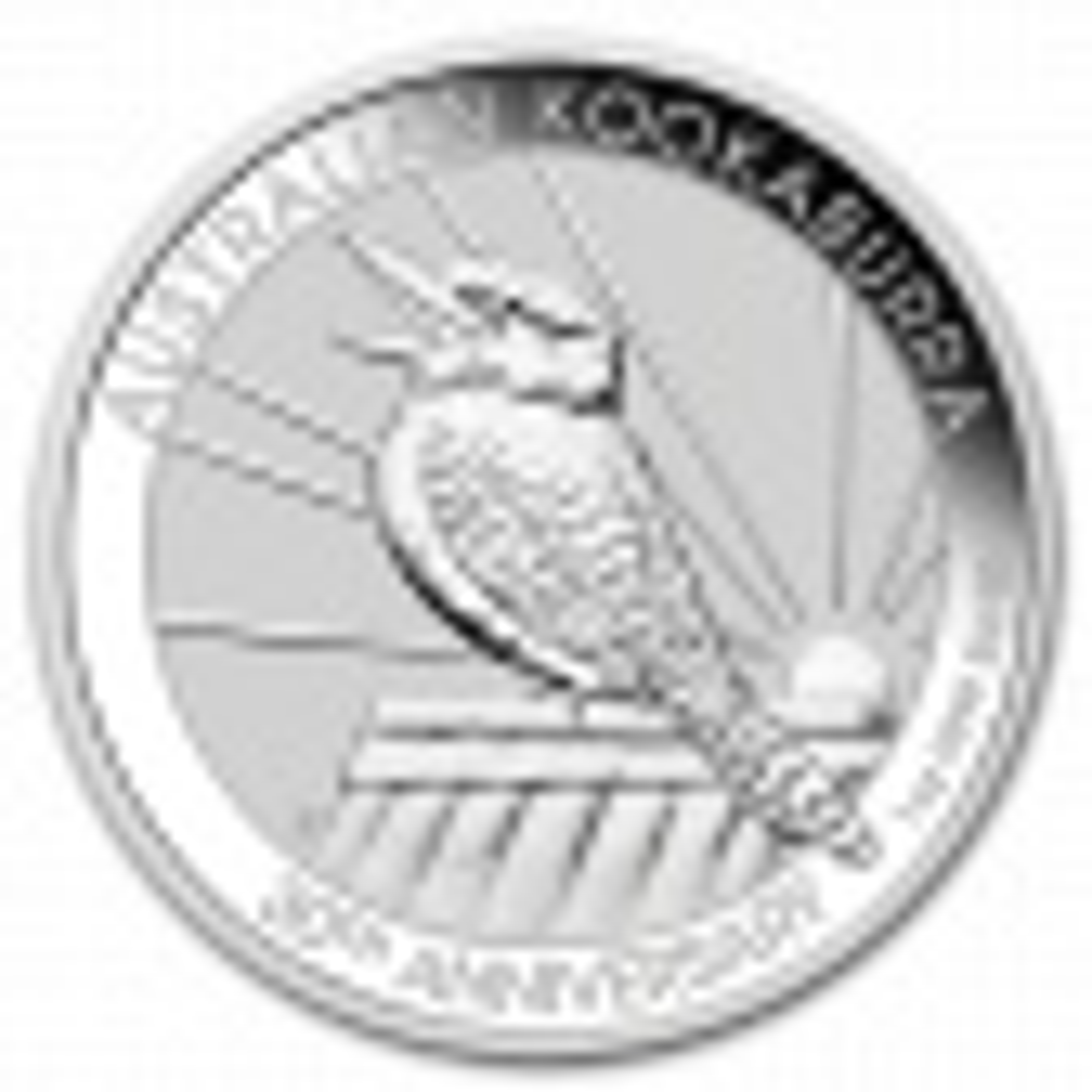 1 Troy ounce silver coin Kookaburra 2020 front