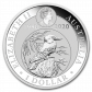 1 Troy ounce silver coin Kookaburra 2020 back