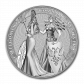 5 Troy ounce silver coin Germania Allegories 2019 - back