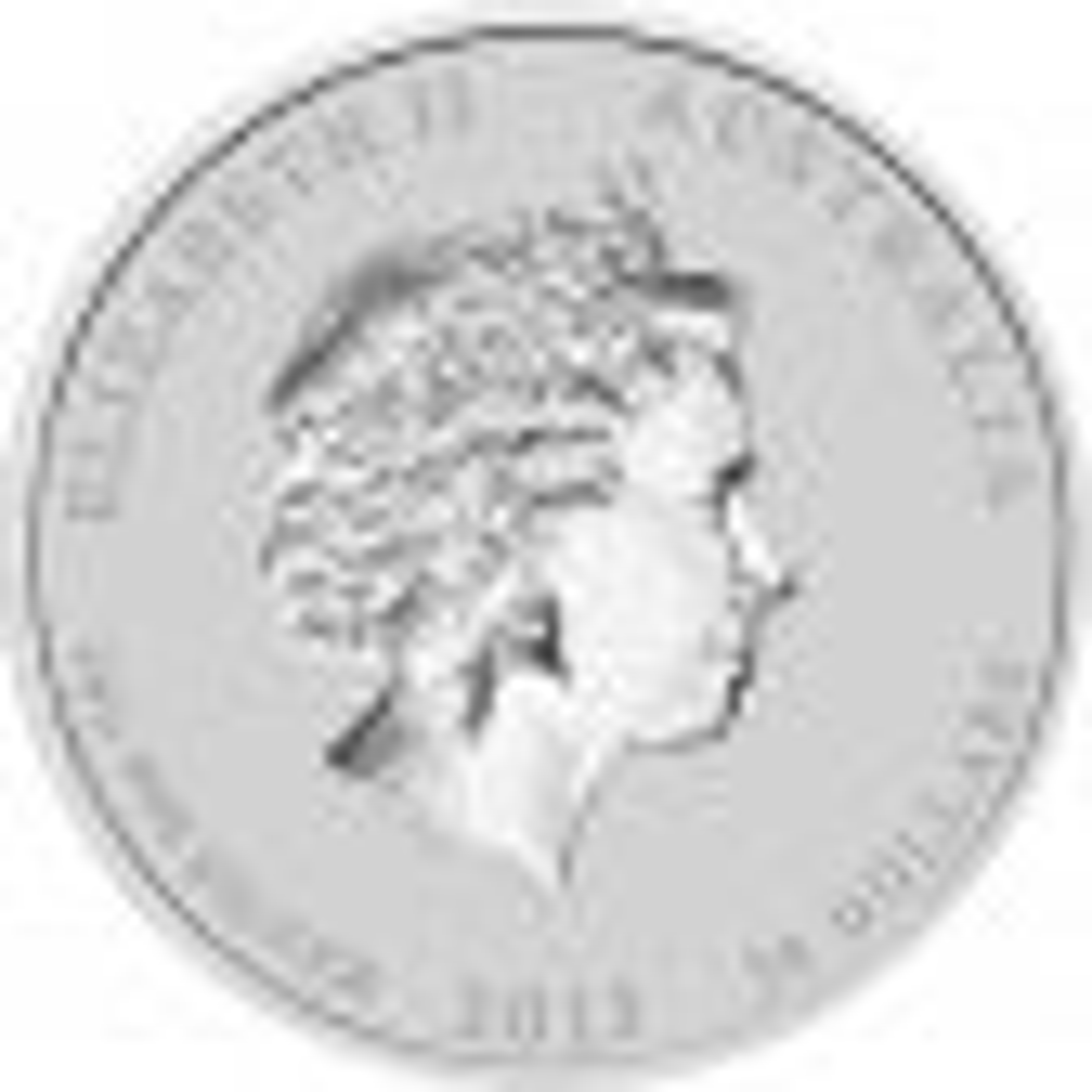 Lunar zilveren munt